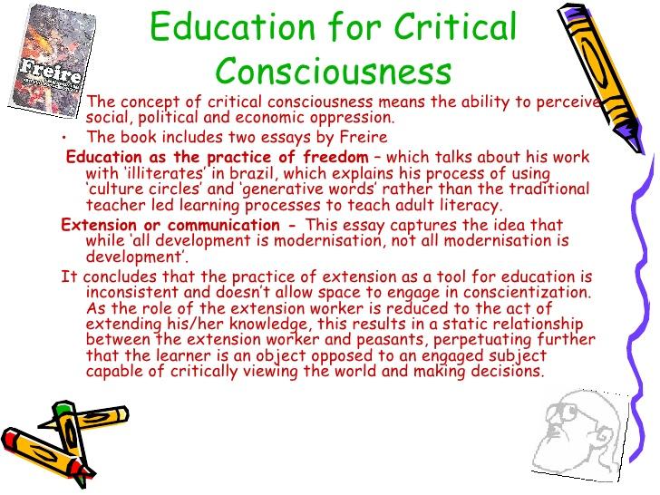 essay on pedagogy of the oppressed