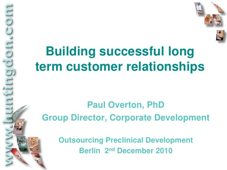 build and enhance customer relationship