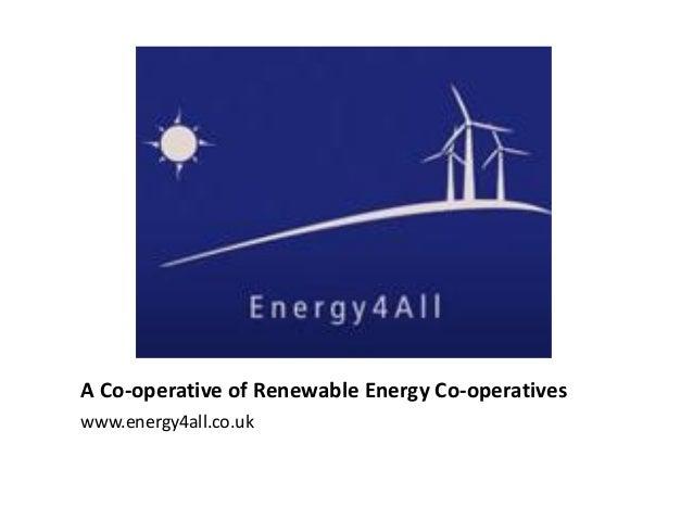 A co-operative of renewable energy co-operatives (EN)