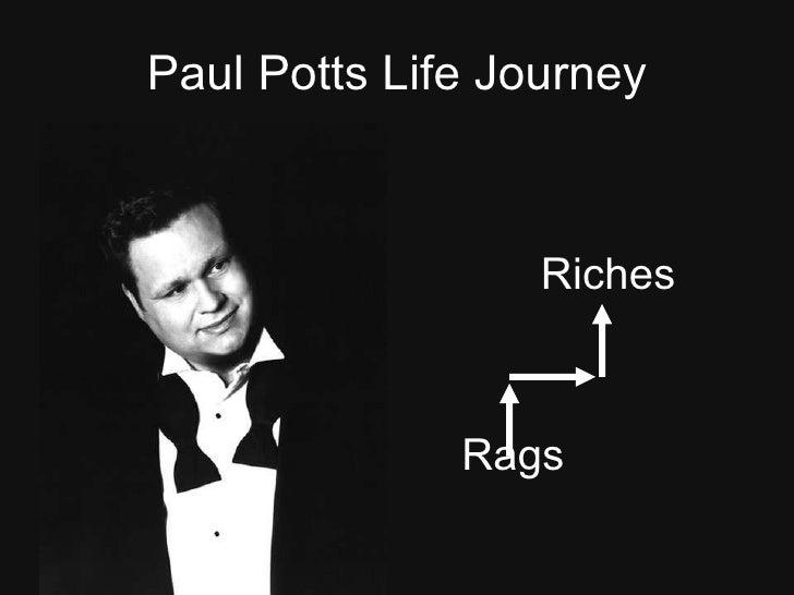 Paul Potts Life Journey Slide Share