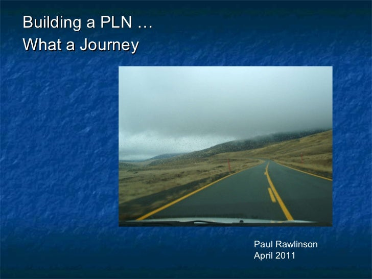 Paul R's PLN Journey