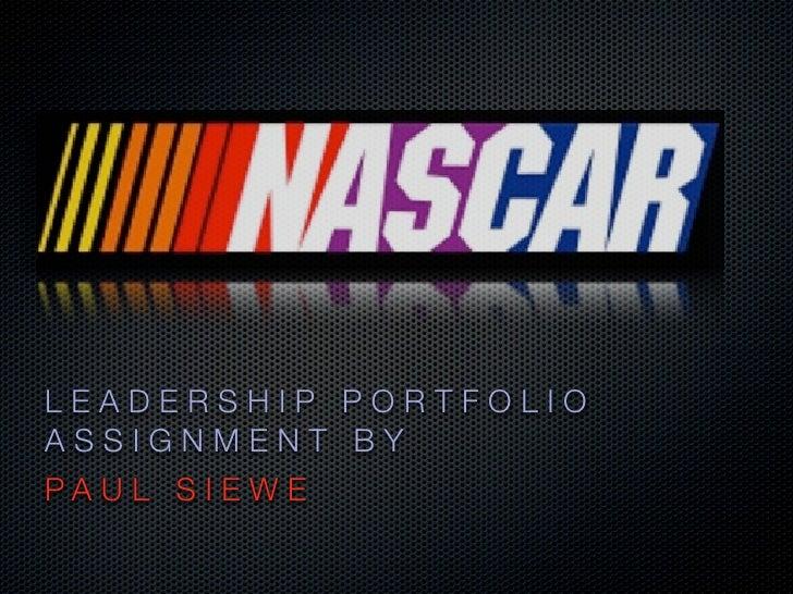 Nascar Brand Story revised