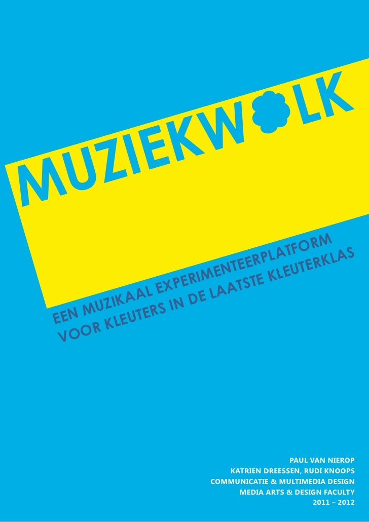 Thesis Paul van Nierop: Muziekwolk