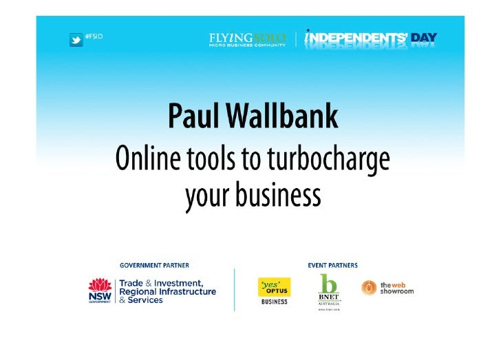 Online tools toturbocharge your business
