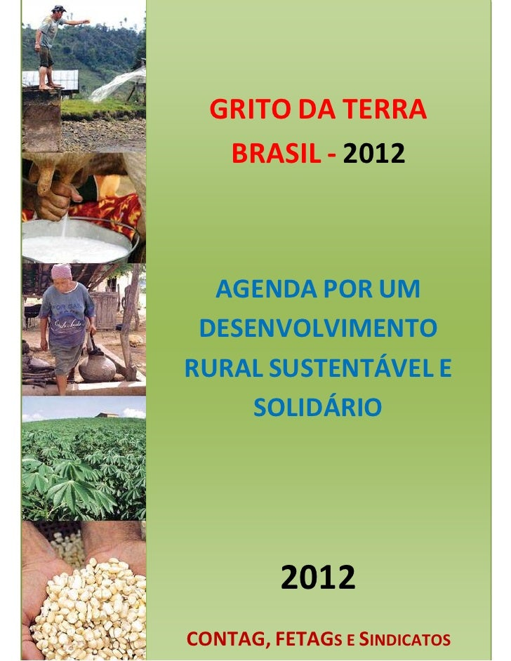 Pauta do Grito da Terra Brasil 2012