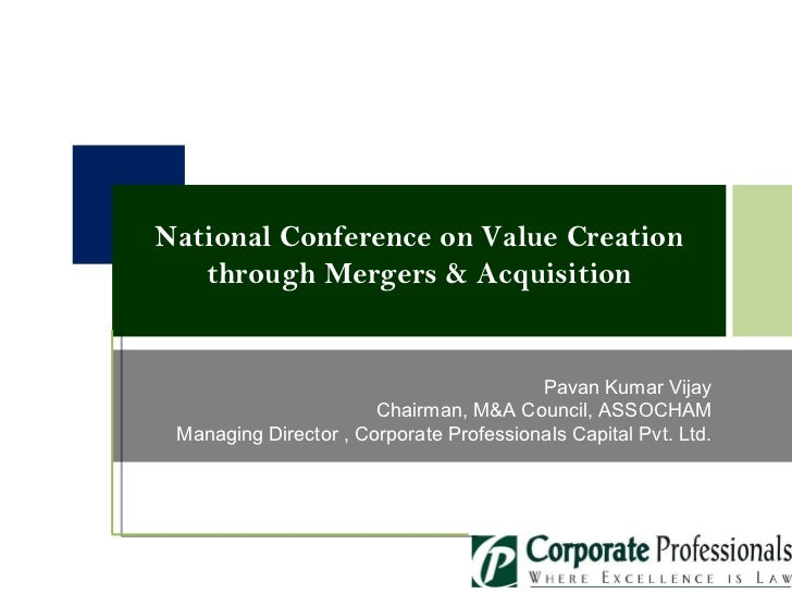 National Conference Value Creations