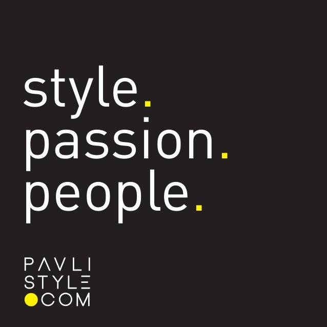 About PavliStyle