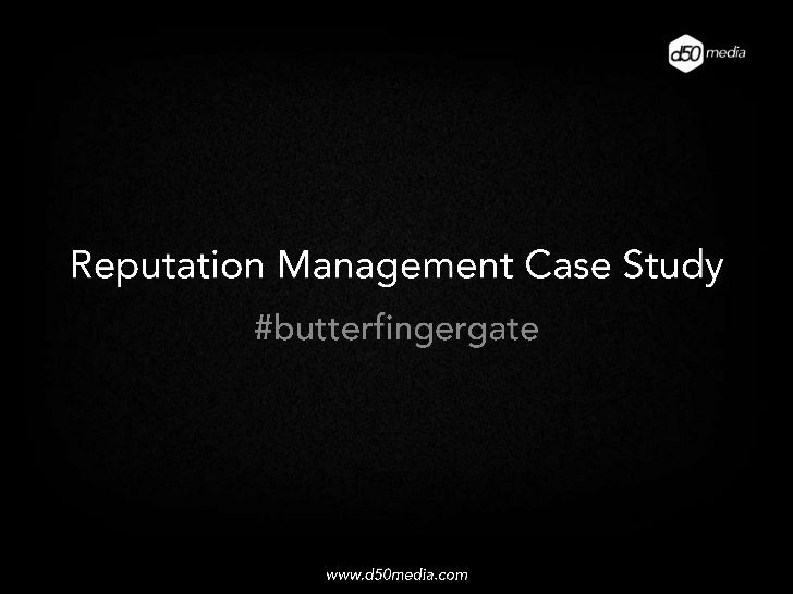 Reputation Management: Pawngo and Butterfinger