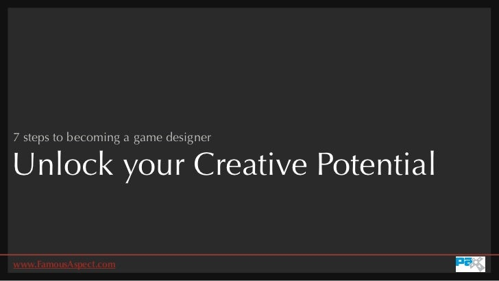 Unlock your creative potential: 7 steps to becoming a game designer