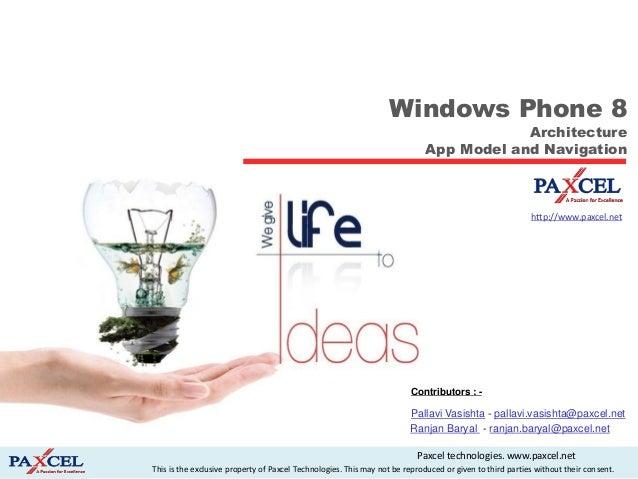 Window phone 8 introduction