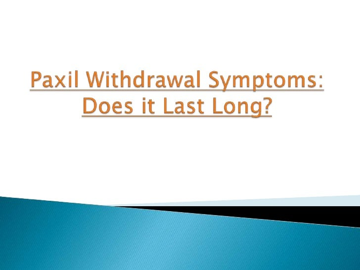 ativan withdrawals symptoms