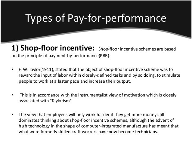 managing motivation incentive pay and the Lives, which requires different management techniques it is shown that motivation must come from within the employee the theories investigated will help describe.