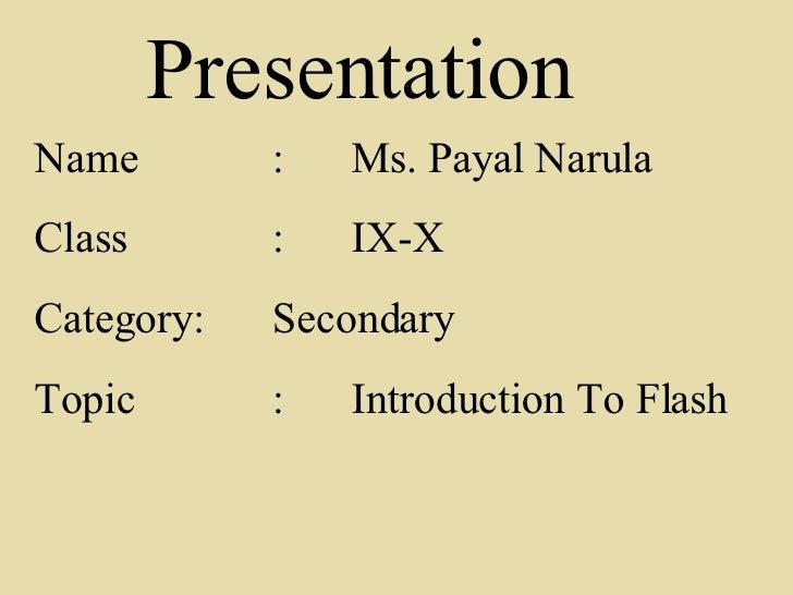 Learning flash by Ms. Payal Narula