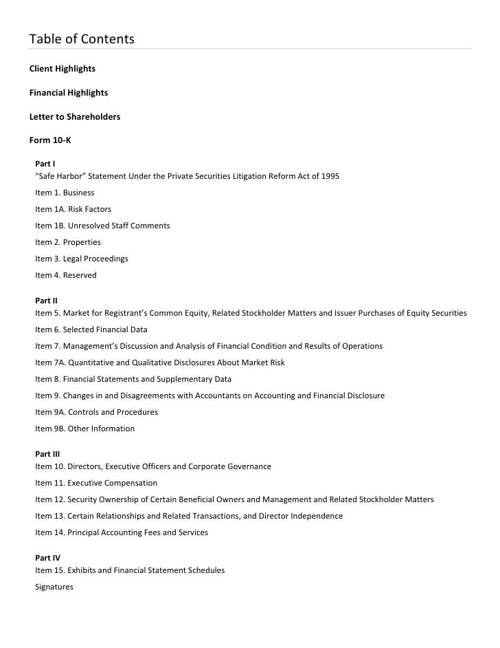 Paychex Fiscal 2010 Annual Report