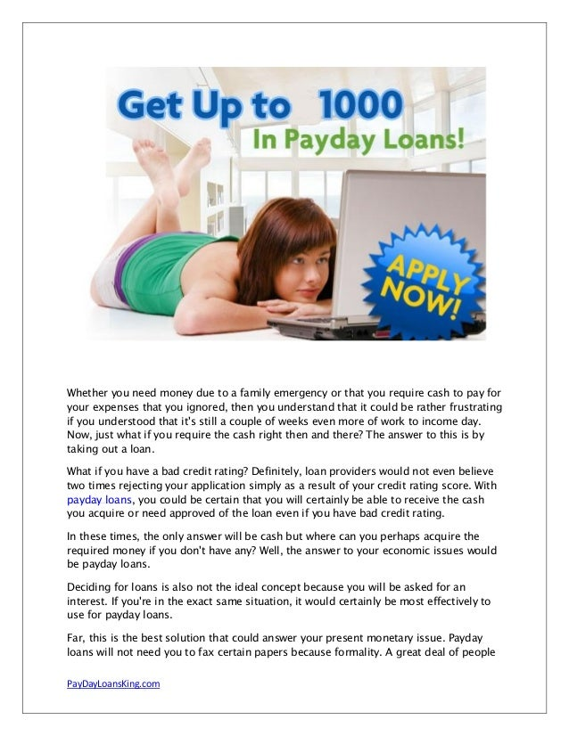cash info payday loans