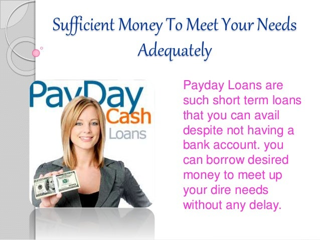 Personal Loans for People with Bad Credit and No Checking Account