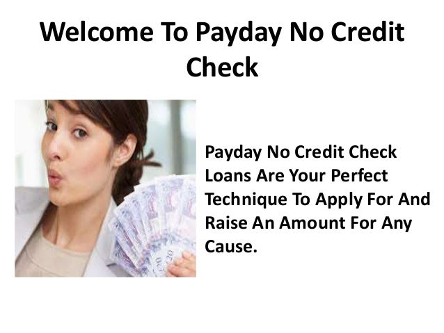 one hour payday loans no credit check