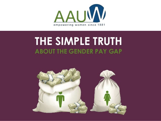 the truth about the gender pay gap The gender and race wage gap: median annual earnings for full-time workers  figure 1  the simple truth about the gender pay gap report.
