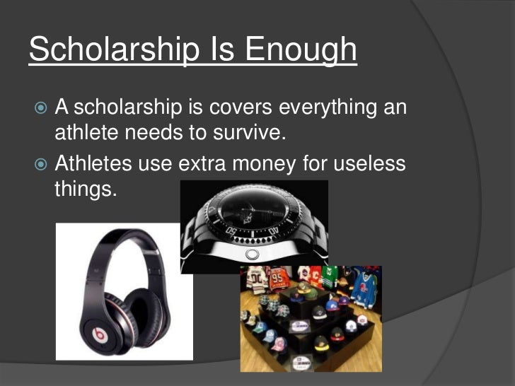 are college athletes paid enough