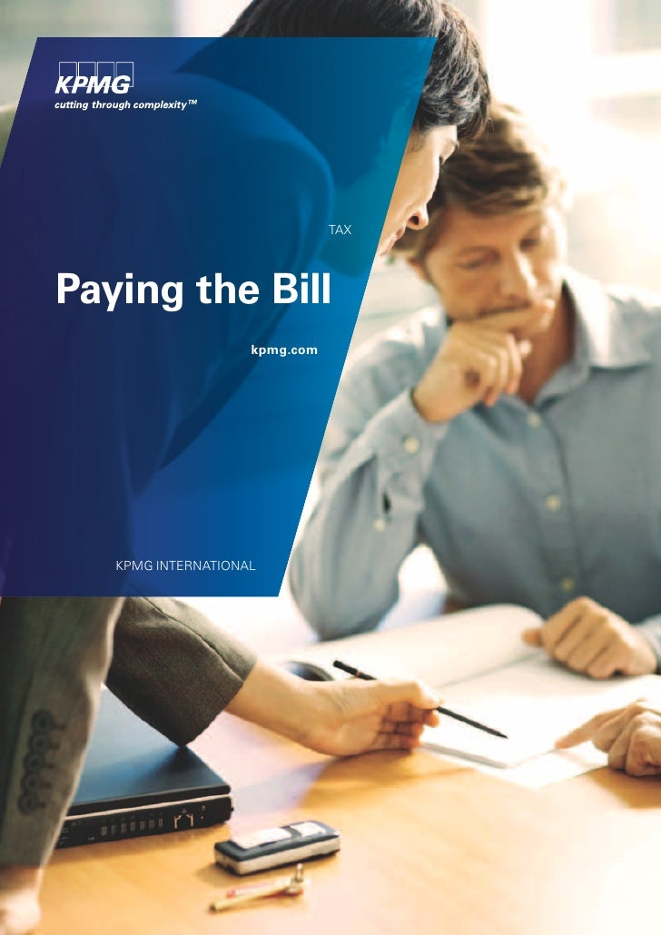 TAXPaying the Bill                    kpmg.com   KPMG INTERNATIONAL