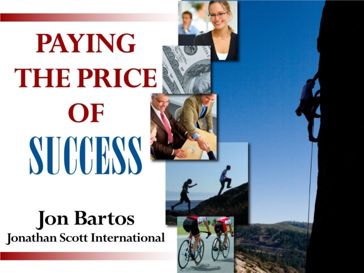 Paying the Price of Success