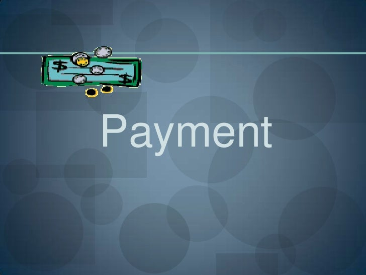 Payment<br />