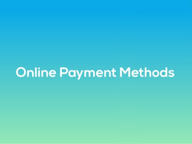 online payment modes