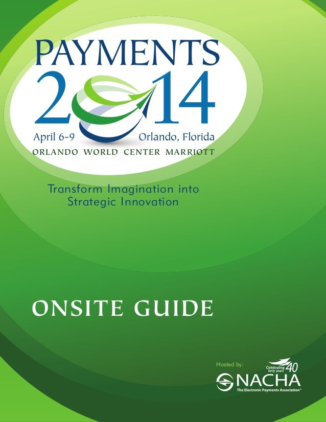PAYMENTS 2014 On Site Guide
