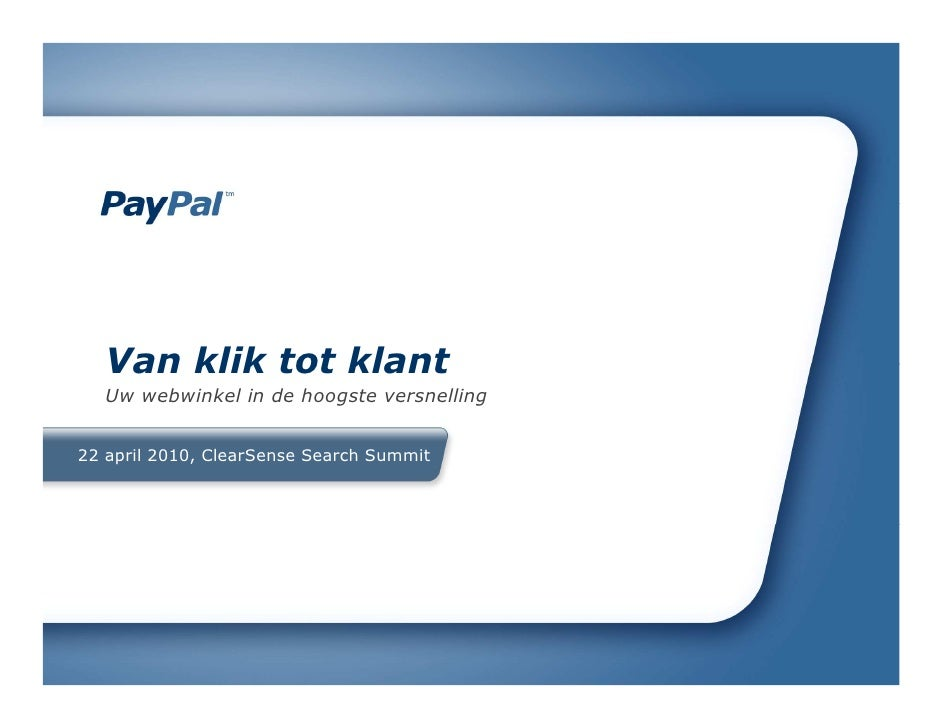 PayPal Search Summit