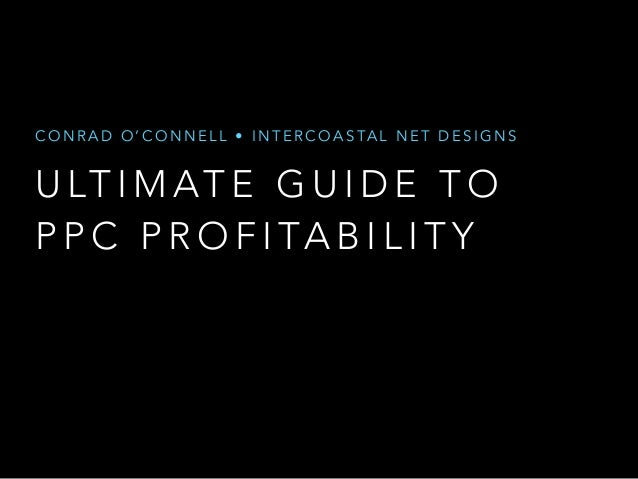 Guide Your Way To PPC Profitability with Google AdWords