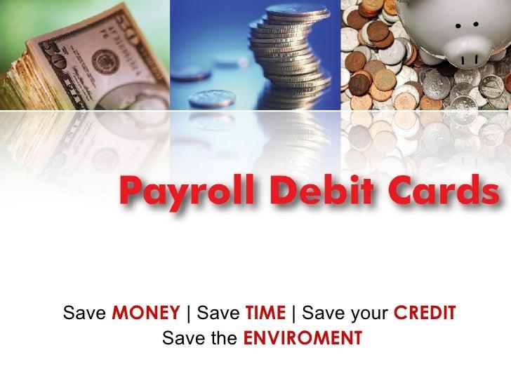 Payroll Cards 101