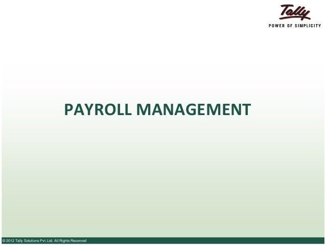 What is Payroll - Understanding payroll management!