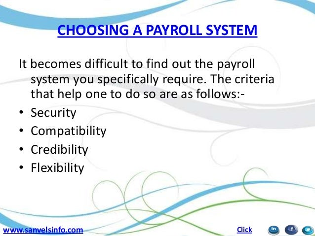 Payroll – Introduction to Basic Concepts