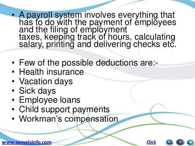 payroll management ppt