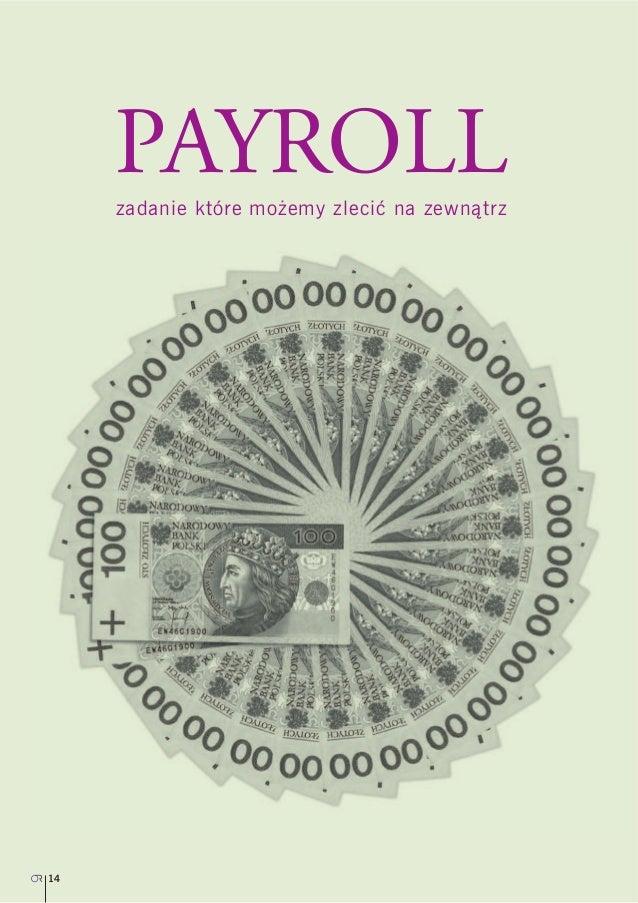 Payroll – zadanie które możemy zlecić na zewnątrz