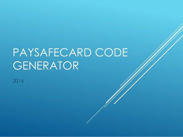 paysafecard code testen