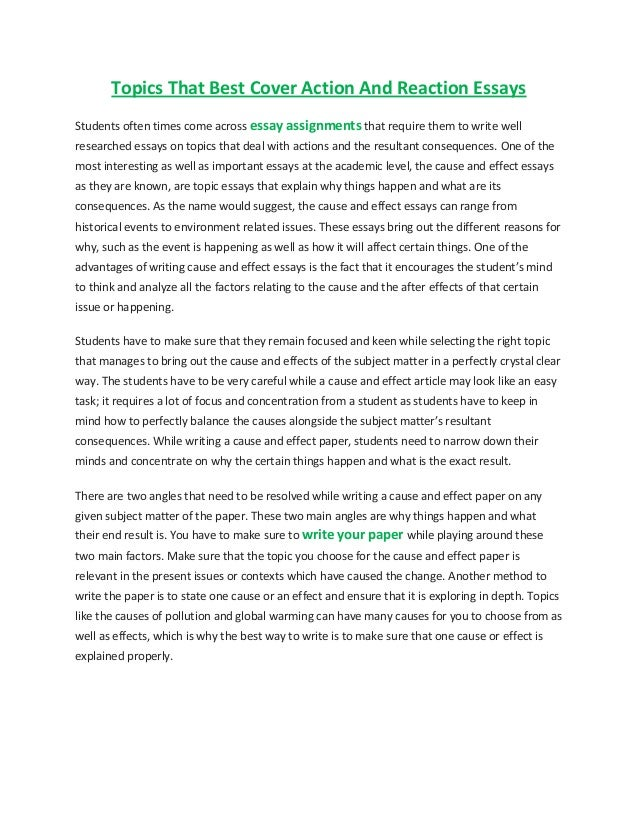 personal reaction essays Writing a reaction or response essay reaction or response papers are usually requested by teachers so that you'll consider carefully what you think or feel about something you've read the.