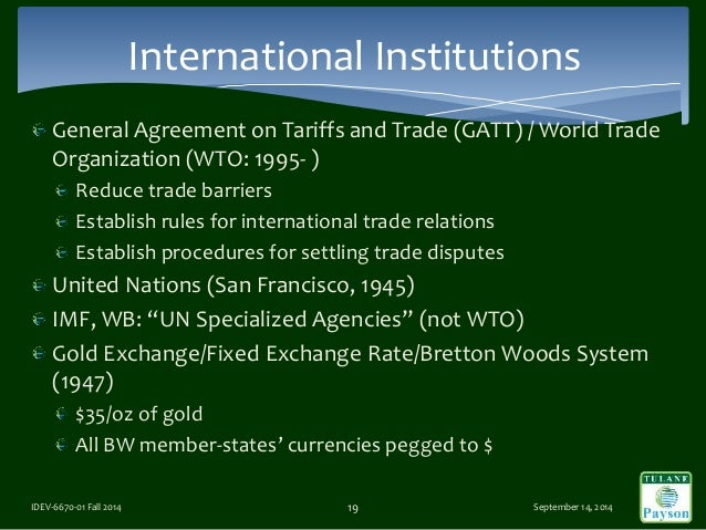 an analysis of the wto agency Research/analysis wto world tariff profiles 2008  the world tariff profiles 2008 is the second edition of a new inter-agency statistical publication.