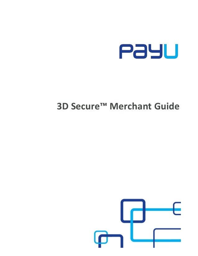 3D Secure™ Merchant Guide