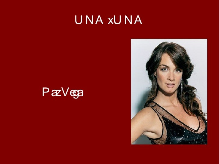 Paz Vega