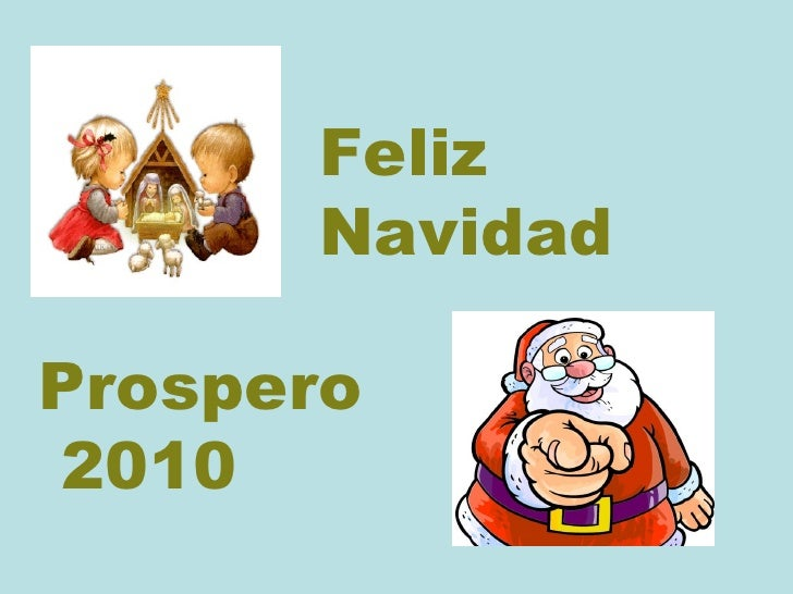 Feliz  Navidad Prospero 2010