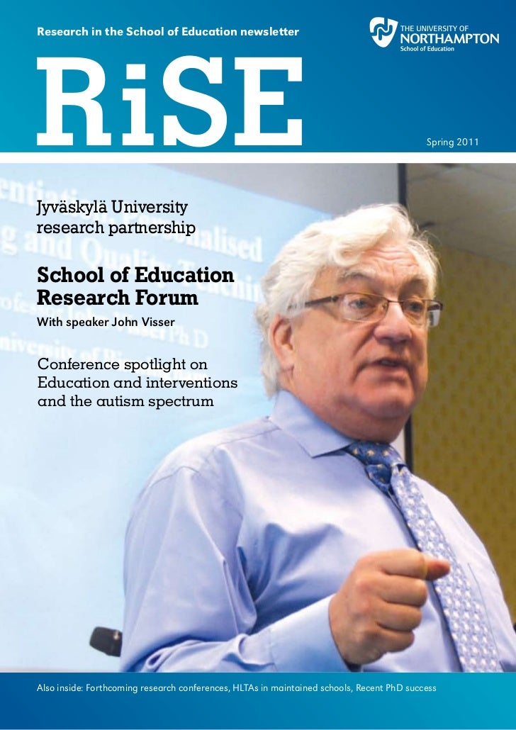 RiSE (Research in School of Education ) newsletter Issue03 (Spring 2011)