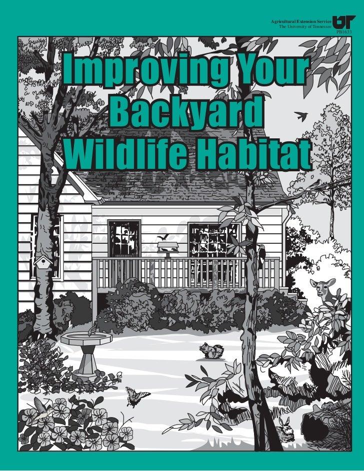 TN: Improving Your Backyard Wildlife Habitat
