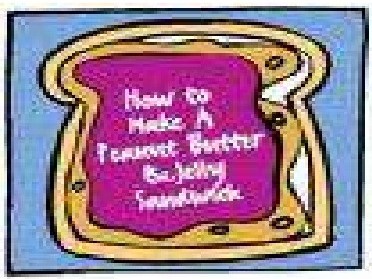 How to make a PB & J