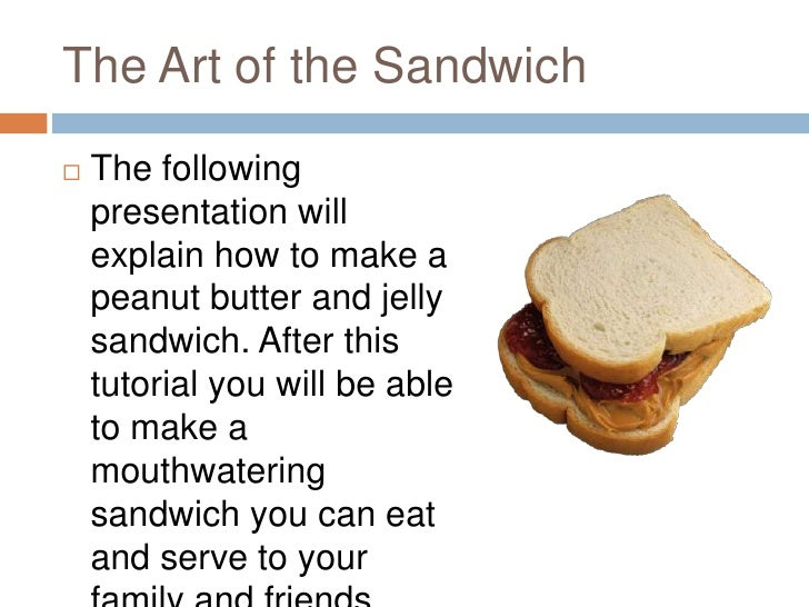 how to make a peanut butter and jelly sandwich Who knew there could be so many opinions about three ingredients we talked to 6 chefs about how they make the perfect peanut butter and jelly sandwich.