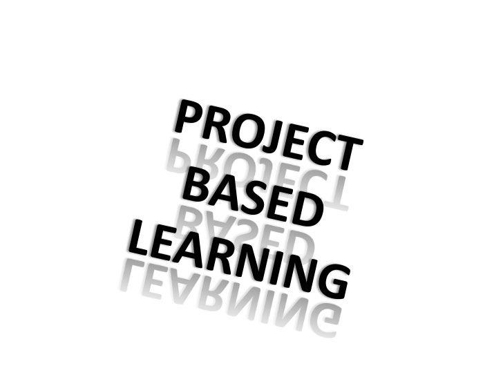 Project-based Learning pecha kucha