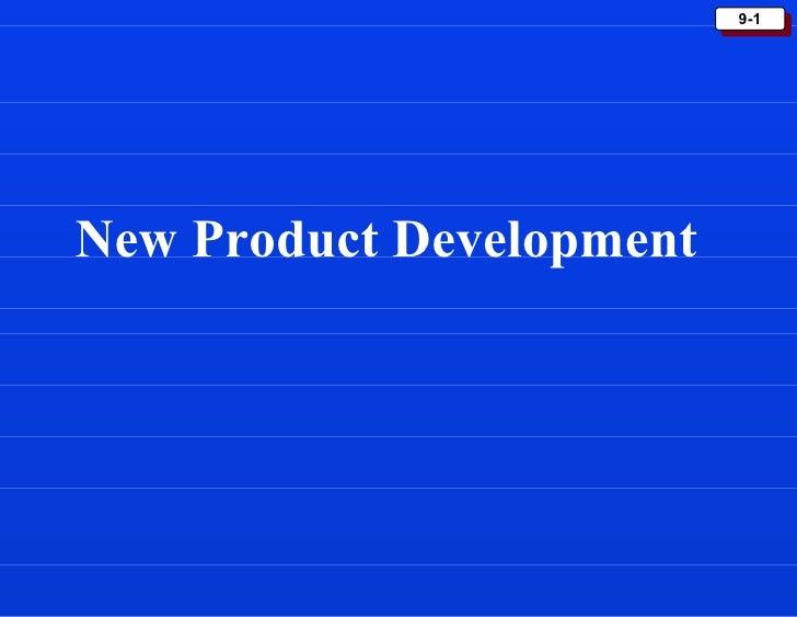 9-1New Product Development