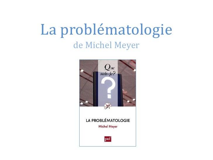 Problématologie
