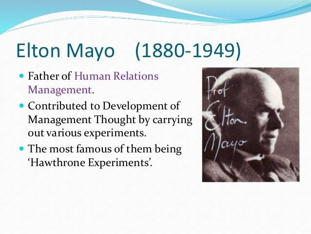 elton mayor contribution on management
