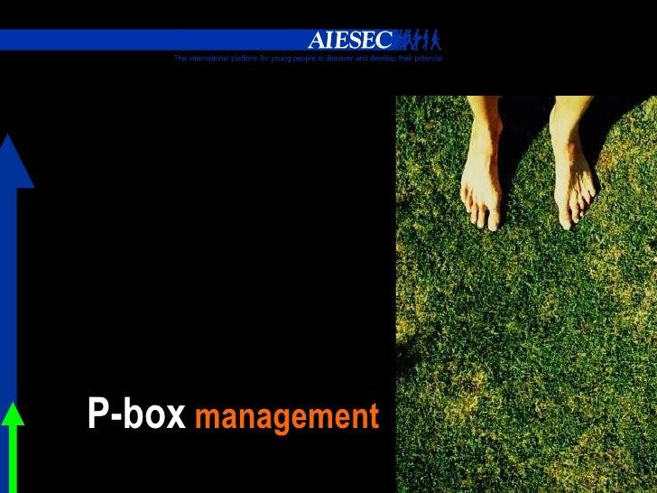 Pbox Management